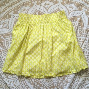 SALE! ☀️ Sunny Yellow Summer Mini Skirt ☀️
